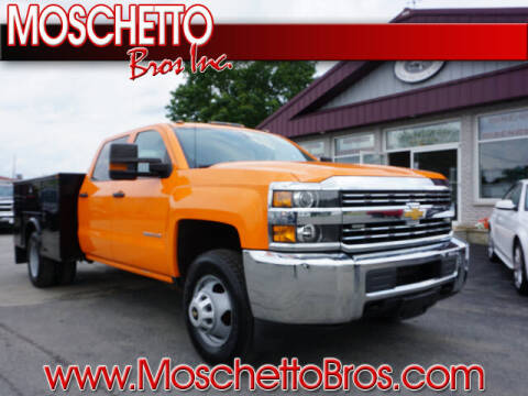 2016 Chevrolet Silverado 3500HD CC for sale at Moschetto Bros. Inc in Methuen MA