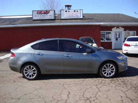 2013 Dodge Dart for sale at G and G AUTO SALES in Merrill WI