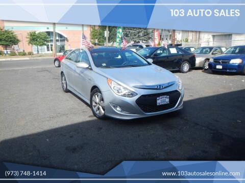 2012 Hyundai Sonata Hybrid for sale at 103 Auto Sales in Bloomfield NJ