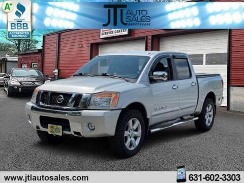2012 Nissan Titan for sale at JTL Auto Inc in Selden NY