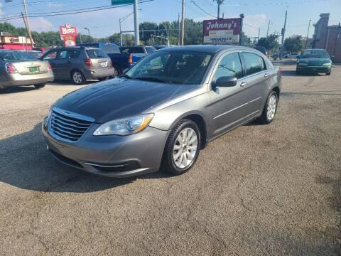 2012 Chrysler 200 for sale at Johnny's Motor Cars in Toledo OH