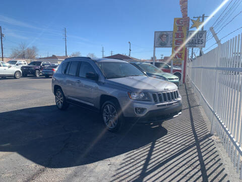 2016 Jeep Compass for sale at Robert B Gibson Auto Sales INC in Albuquerque NM