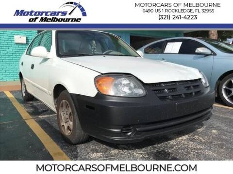 2005 Hyundai Accent for sale at Motorcars of Melbourne in Rockledge FL