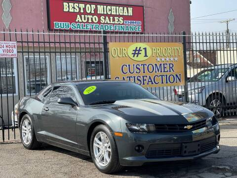 2014 Chevrolet Camaro for sale at Best of Michigan Auto Sales in Detroit MI