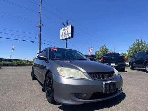 2004 Honda Civic for sale at S&S Best Auto Sales LLC in Auburn WA