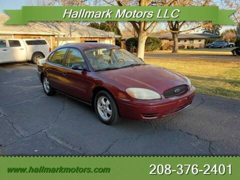 2007 Ford Taurus for sale at HALLMARK MOTORS LLC in Boise ID