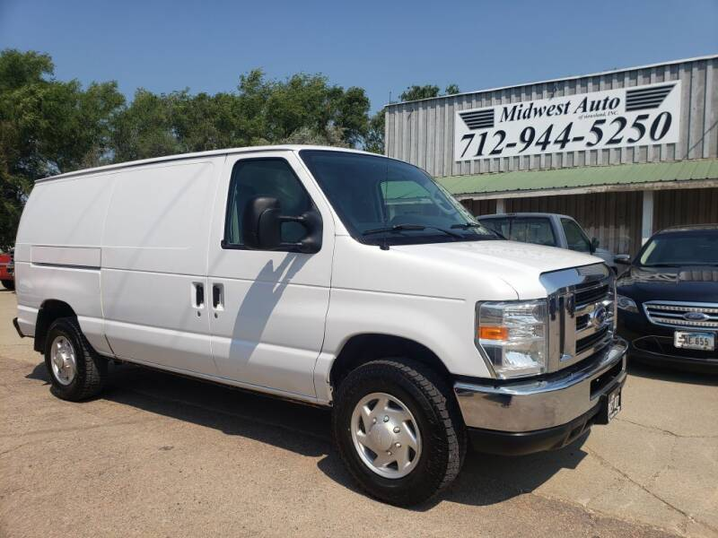 2013 Ford E-Series Cargo for sale at Midwest Auto of Siouxland, INC in Lawton IA