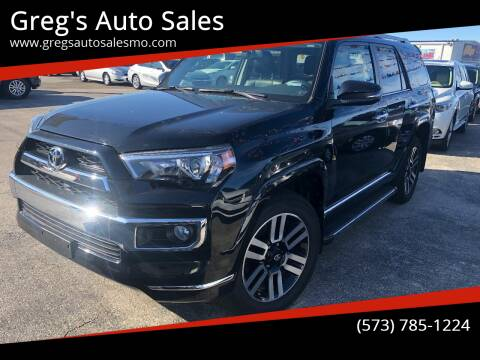 2018 Toyota 4Runner for sale at Greg's Auto Sales in Poplar Bluff MO