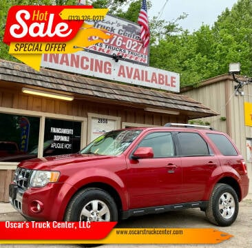 2009 Ford Escape for sale at Oscar's Truck Center, LLC in Houston TX
