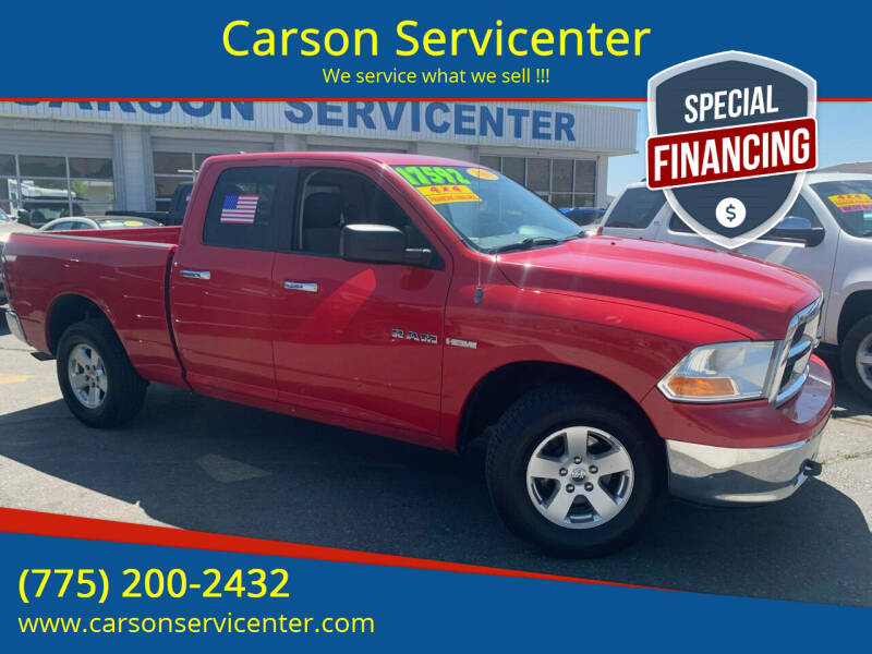 2010 Dodge Ram Pickup 1500 for sale at Carson Servicenter in Carson City NV