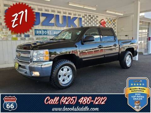 2012 Chevrolet Silverado 1500 for sale at BROOKS BIDDLE AUTOMOTIVE in Bothell WA
