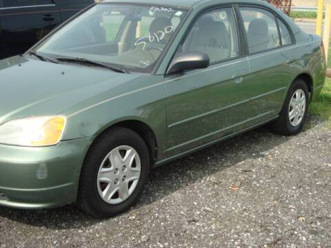 2003 Honda Civic for sale at Branch Avenue Auto Auction in Clinton MD