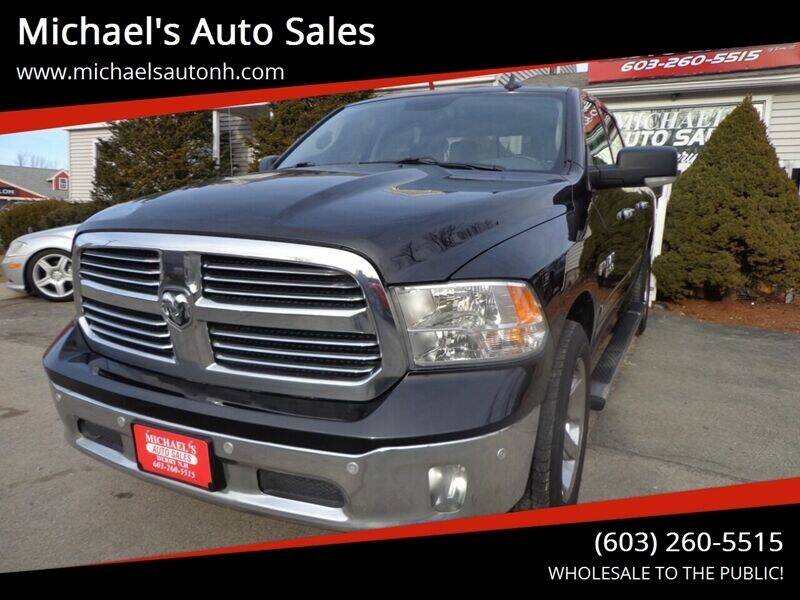 2016 RAM Ram Pickup 1500 for sale at Michael's Auto Sales in Derry NH