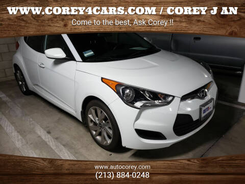 2016 Hyundai Veloster for sale at WWW.COREY4CARS.COM / COREY J AN in Los Angeles CA