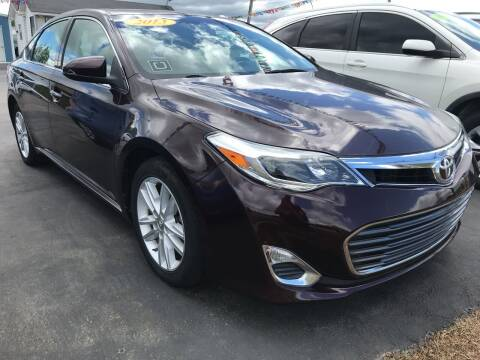 2013 Toyota Avalon for sale at BEST AUTO SALES in Russellville AR