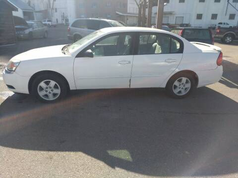 2005 Chevrolet Malibu for sale at Creekside Auto Sales in Pocatello ID