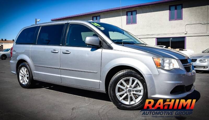 2014 Dodge Grand Caravan for sale at Rahimi Automotive Group in Yuma AZ