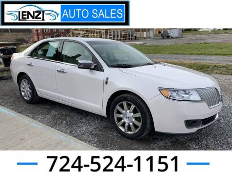 2010 Lincoln MKZ for sale at LENZI AUTO SALES in Sarver PA