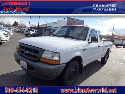 2000 Ford Ranger for sale at Bruce Kirkham Auto World in Yakima WA