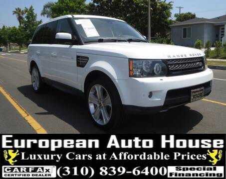 2012 Land Rover Range Rover Sport for sale at European Auto House in Los Angeles CA