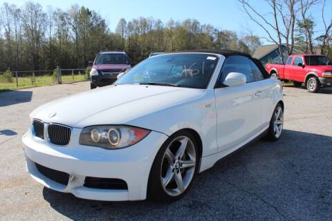 2011 BMW 1 Series for sale at UpCountry Motors in Taylors SC