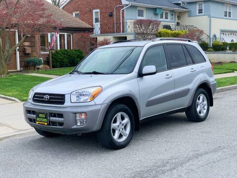 2001 Toyota RAV4 for sale at Reis Motors LLC in Lawrence NY