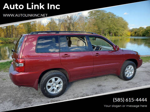 2007 Toyota Highlander for sale at Auto Link Inc in Spencerport NY