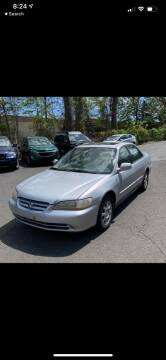 2002 Honda Accord for sale at Bluesky Auto in Bound Brook NJ
