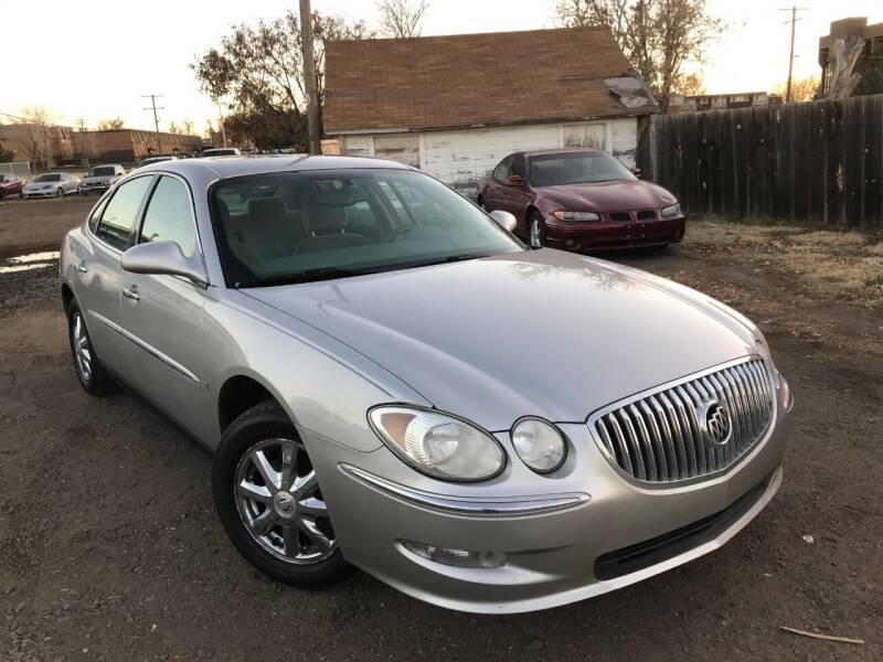 2008 Buick LaCrosse for sale at 3-B Auto Sales in Aurora CO
