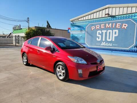 2010 Toyota Prius for sale at PREMIER STOP MOTORS LLC in San Antonio TX
