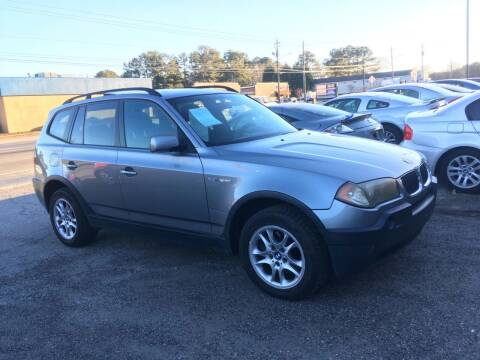 2004 BMW X3 for sale at CAR STOP INC in Duluth GA