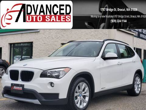 2014 BMW X1 for sale at Advanced Auto Sales in Dracut MA