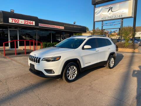 2019 Jeep Cherokee for sale at NORRIS AUTO SALES in Oklahoma City OK