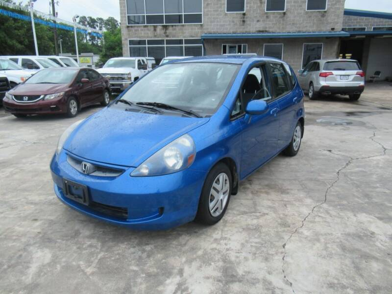 2008 Honda Fit for sale at Lone Star Auto Center in Spring TX