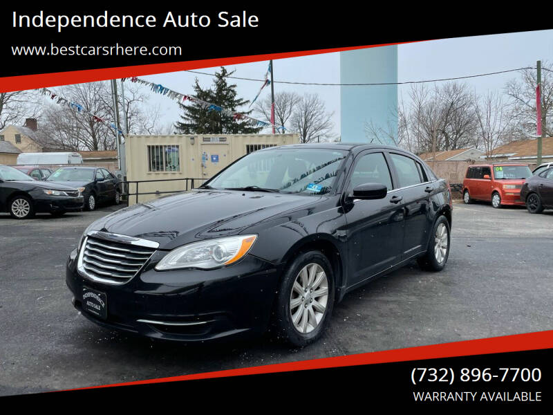 2013 Chrysler 200 for sale at Independence Auto Sale in Bordentown NJ