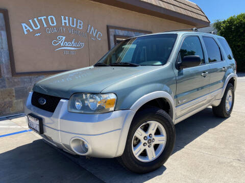 2006 Ford Escape Hybrid for sale at Auto Hub, Inc. in Anaheim CA