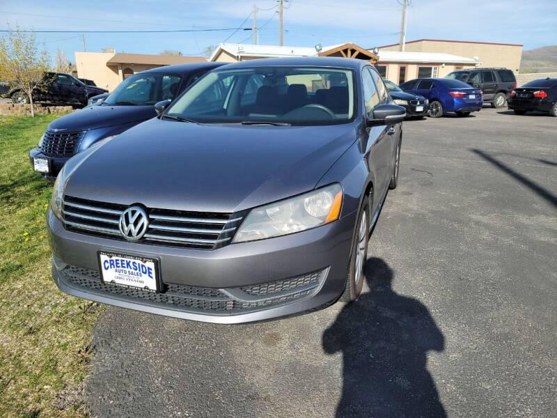 2013 Volkswagen Passat for sale at Creekside Auto Sales in Pocatello ID