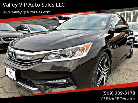 2017 Honda Accord for sale at Valley VIP Auto Sales LLC in Spokane Valley WA