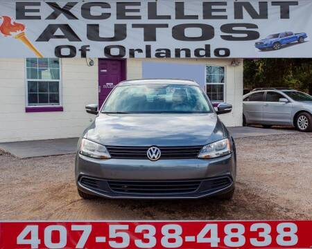 2014 Volkswagen Jetta for sale at Excellent Autos of Orlando in Orlando FL