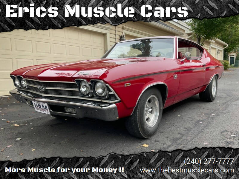 1969 Chevrolet Chevelle for sale at Erics Muscle Cars in Clarksburg MD