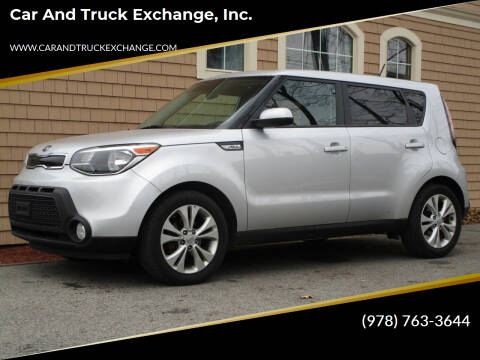 2016 Kia Soul for sale at Car and Truck Exchange, Inc. in Rowley MA