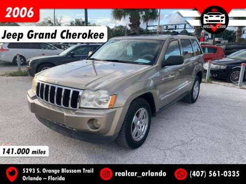 2006 Jeep Grand Cherokee for sale at Real Car Sales in Orlando FL