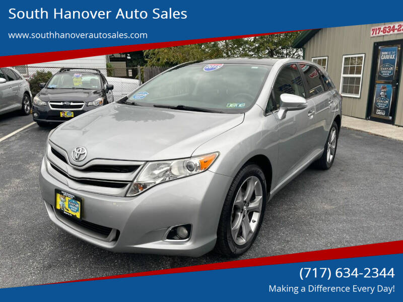 2015 Toyota Venza for sale at South Hanover Auto Sales in Hanover PA