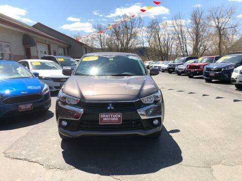 2017 Mitsubishi Outlander Sport for sale at Shattuck Motors in Newport VT