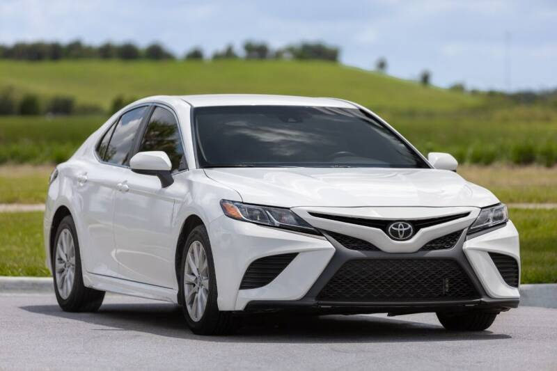 2018 Toyota Camry for sale at PAUL YODER AUTO SALES INC in Sarasota FL
