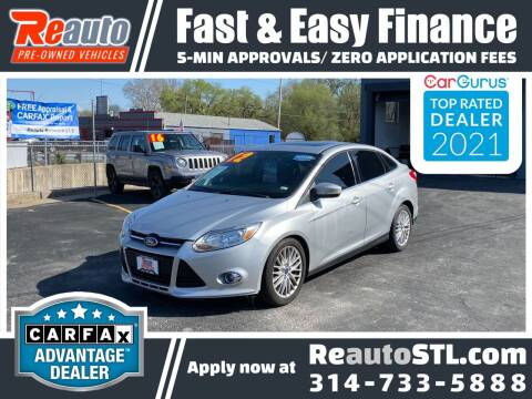 2012 Ford Focus for sale at Reauto in Saint Louis MO