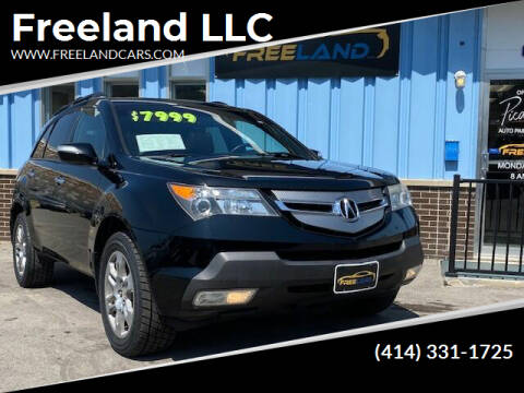 2008 Acura MDX for sale at Freeland LLC in Waukesha WI