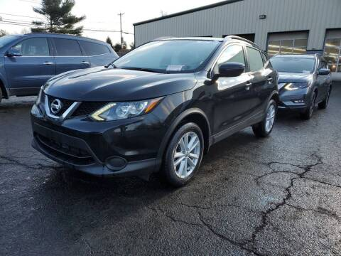 2017 Nissan Rogue Sport for sale at Riverside Auto Sales & Service in Portland ME