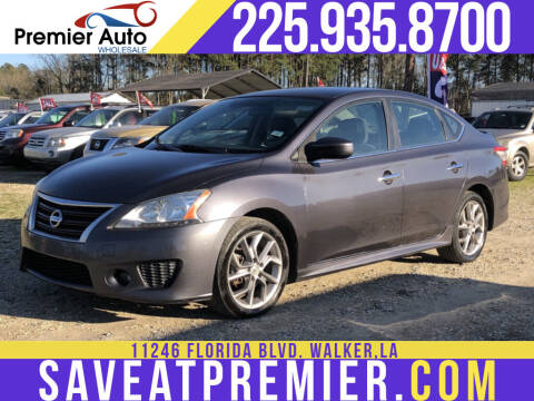 2013 Nissan Sentra for sale at Premier Auto Wholesale in Baton Rouge LA