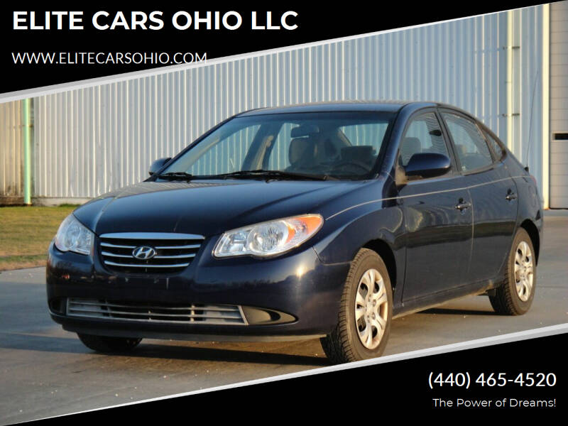 2010 Hyundai Elantra for sale at ELITE CARS OHIO LLC in Solon OH